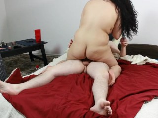 Daisy Dabs gets Naughty 5:  Teen rides & Sucks Cock, gets Cum on Pussy