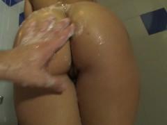 Homemade anal video with nice chubby girlfriend
