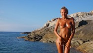 Katya santos naked pics Katya clover - naked beach dancercorsica summer 2014