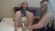 Abby titmus porn Abby reading while using hitachi