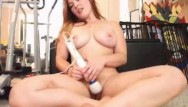 Sexy very busty women Sexy thick busty redhead hitachi and dildo fun