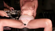 Spanked in plastic panties - Pussy spanked milf soaks her panties: real extreme squirting