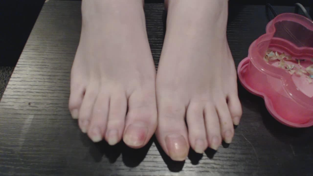 Foot Worship Lesbian Nylon