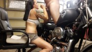 Sexy motorcycle calenders Gia rose sucks my dick on my harley davidson motorcycle huge facial