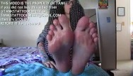 Youtube foot worship sexy woman 05 - Sexy tattooed teen worships her wet wrinkled feet and soles