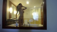Boobs on window Miamaxxx luxury tattooed cover girl see-through window fun