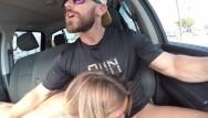 Boob car wash - Fucking in public drive threw car wash