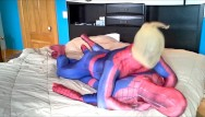Adoption against gay people - Masked spiderman struggles against spiderman