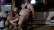Sissi bikini Bound feminized sissy in bikini sucks strapon drinks cum from shot glass