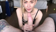 Free oral cumshot - Head 2 head - featuring little oral andie jasper blue