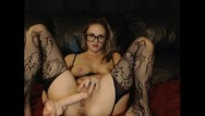 Gf talks dirty when fucking - Naughty cam girl fucks her dildo and talks dirty - lindsey_luv