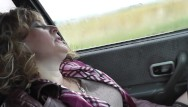 Candas machelle naked Naked in public. naked in car. woman masturbating in car close up pussy pov