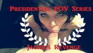 Savage blowjobs Presidential blowjob roleplay super hot stella von savage gags spits
