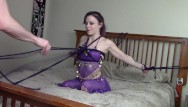 Master slave sex games - Harem slave girl blows and is fucked hard by her master