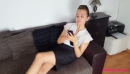 Lena alexandra nude Couch relaxing with nylon feet