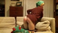 Naked mom on holiday Happy holidays special: santas naughty helper needs punished via spanks