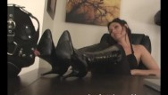 Slave lingerie hogtied - Obey melanie - what a foot slave wants