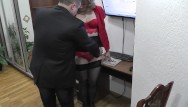 My big fat obnoxious boss bikini - Office secretary. boss fucks secretary and cumshot. hidden camera office