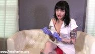 Femdom role play Sadistic nurse gives you penectomy -- role play pov