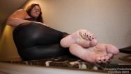 Full milf videos - Kristen cameron - premium mature feet full video