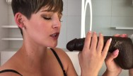 Hannah black cock - Big black cock fantasy blow job with cim xxx