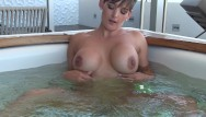 Hot tub masturbation - Pervert caught spying on me playing in the hot tub xxx