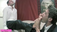 Gay foot fetish porn Another businessman foot fest