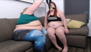 Gain facial fat Ssbbw ivy davenport funnel feeds bbw wood weight gain shake with burps