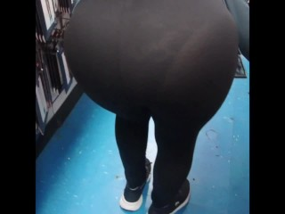 A DAY OUT WITH THE WIFE IN SEE THROUGH SPANDEX PART 3