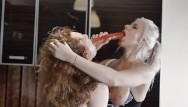 Boneless chicken breast cook time First time ginger and kate truu cooking together turns in hot kitchen orgy