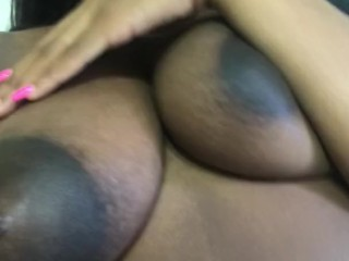 Getting titty fucked