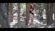Naked freckled red heads Forest striptease fingering until orgasm freckledred