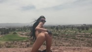 Arizona cum swallow - Kimber veils gets naked in public at arizona park