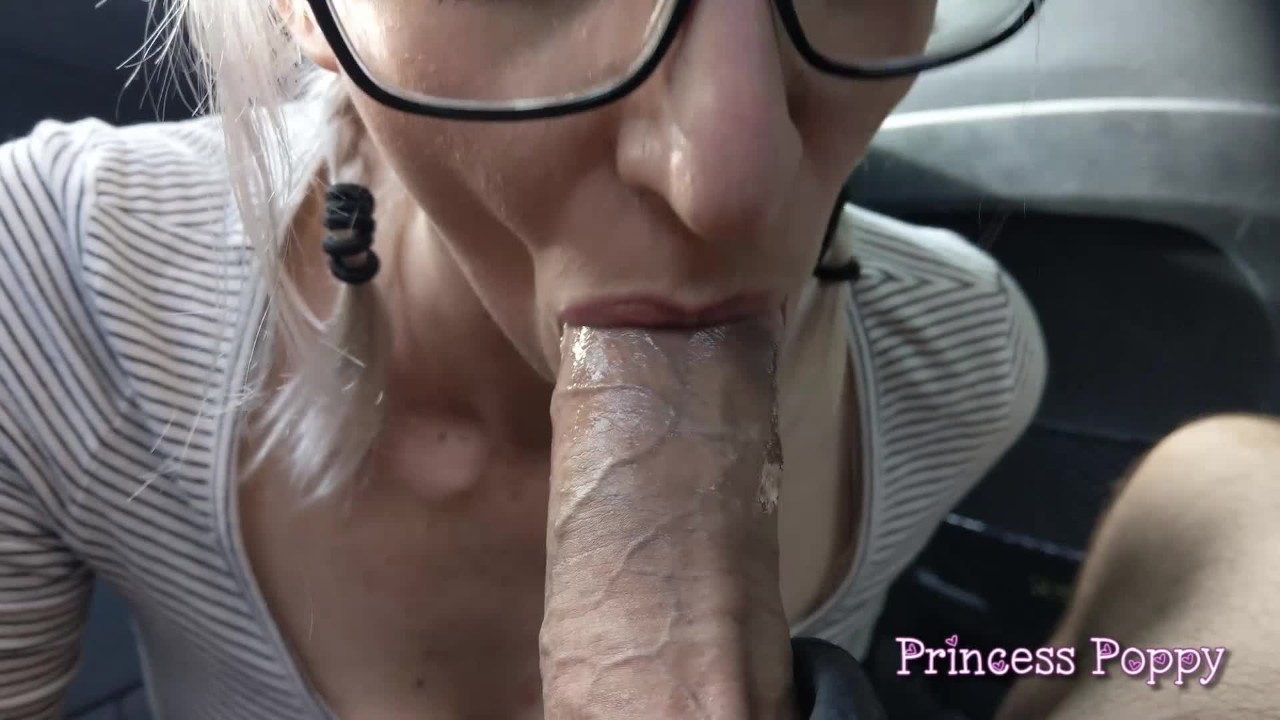 Daddy's Cum Slut - Car Blowjob Compilation for Father's Day