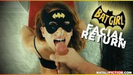 Adult catwoman outfits Facial superhero chap. 1 - batgirl or catwoman cum on her face