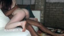 Young Redhead Devours Black Dick • JayJadeMoon Amateur Couple