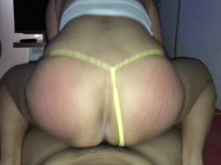 THAI WIFE IN SEXY LINGERIA !!!!! 9 (Spanking)