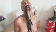 Caribbean adult hotel Caribbean queen oiling up, sexy twerk, panty stuffing light masturbation