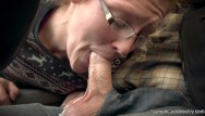 Ivy red shemale distintas - Red head milf ivy sucking off hubby in public parking lot