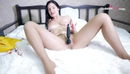 Celebrity pantyhose clips - Girl with pantyhose play herself use vibe toy