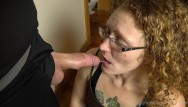 Deep free mature mom throat video - Redhead milf ivy learning to deep throat hubbys cock