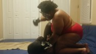 Transvestite slave mistress movies Mistress beats and pees on slave while wrestling
