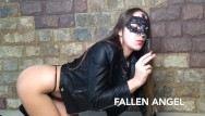 Smoke with pussy Smoking hairy pussy girl play anal with bbc