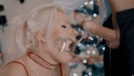 Midget extreme rough sex Santa came earlier. extreme sloppy deepthroat in tight cuffs and mouth gag