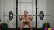 Free pictures young naked women - Muscle milf works out naked - cory chase