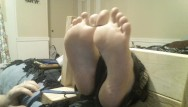 Tickled clips tgp - Wife toe tied in the stocks and tickled