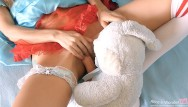 Young pink teen movies Tiny teen miss alice fucked by her bunny toy - big cock in tight pink pussy