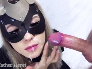Cumshot compilation Your Father's Secret – facial, oralcreampie