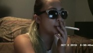 Asian cigarette Chain smoking 5 cigarettes with missdee nicotine extreme