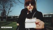 Long cigarette fetish business woman - Persuading non-smoking friend to have a cigarette pov
